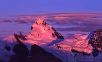 Mt. Forbes Alpenglow - Banff Nat'l Park, Mount Forbes photo