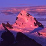 Mt. Forbes Alpenglow - Banff Nat'l Park, Mount Forbes