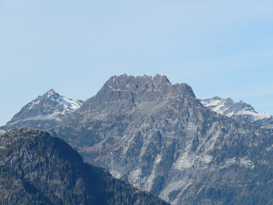 Nine Peaks from the South