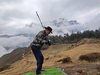 Baahrakhari Everest golf, Kongde Ri photo