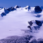 Mt. Lyell (L5 through L1 - Left to Right) and the Lyell Icefield, Mount Lyell (Canada)