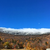 Changing seasons, Mount Mansfield