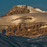 Mt. Olive and the Olive / St. Nicholas Col from the Icefields Parkway, Mount Oliver (Alberta)