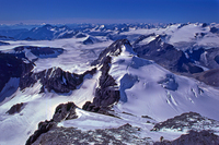From Mount Forbes Buttress - 2 US Climbers  photo