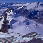 From Mount Forbes Buttress - 2 US Climbers