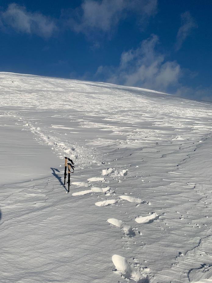 Snowy Lug, Lugnaquilla