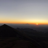 قله بزمان از بلندای تفتان, Bazman