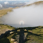 A spectacular Brocken spectre on Mount Snowdon