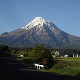 Early morning view, Mount Egmont/Taranaki