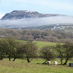 View from St Oswalds, Ingleborough