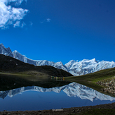 Rush Lake, Rush Peak
