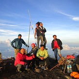 Top of Mount Tambora
