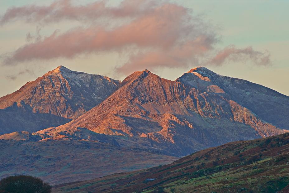 Morning light on Snowdon