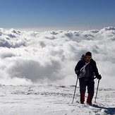Above the clouds, Tochal
