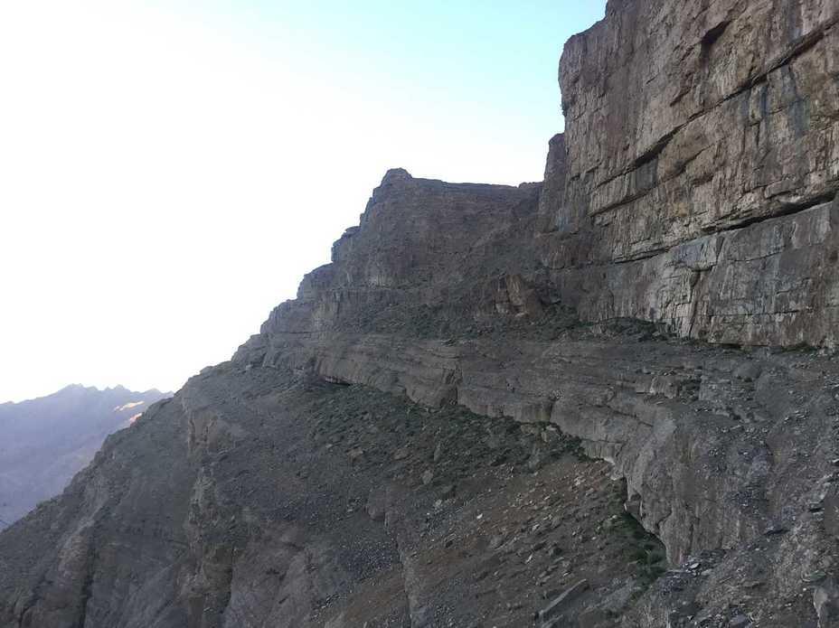 شیر کوه مسیر ضلع جنوبی, شيركوه