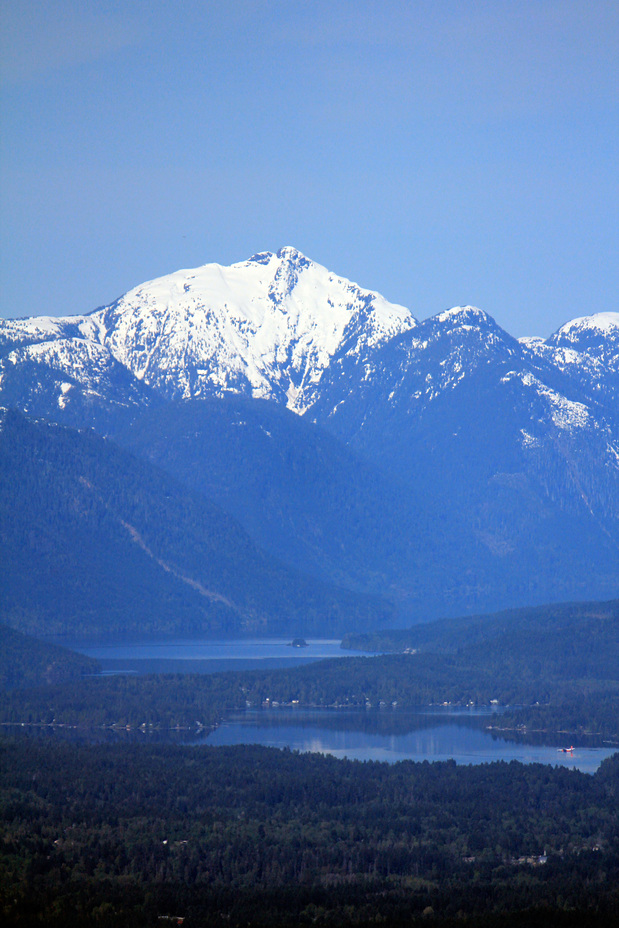 Klitsa above Sproat Lake, Klitsa Mountain