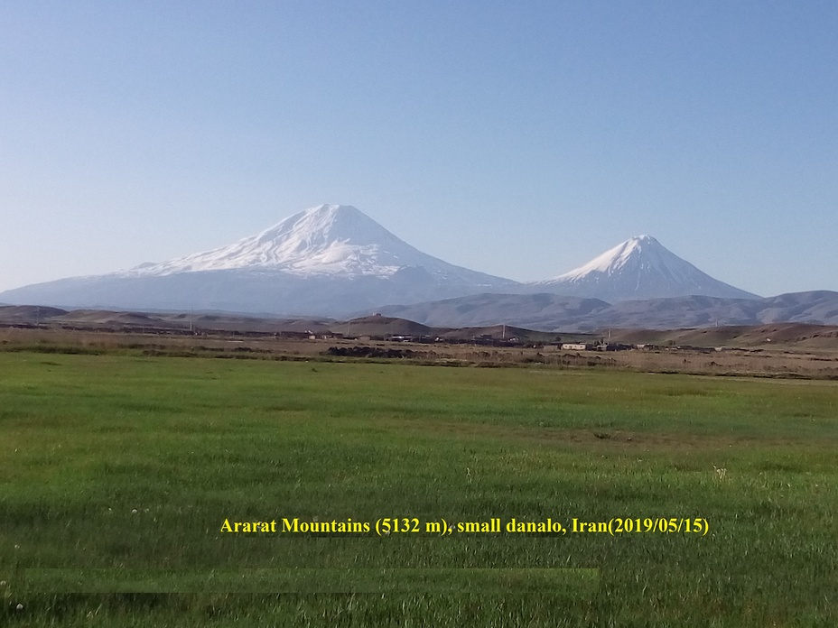 Mount Ararat in mid of spring, Mount Ararat or Agri