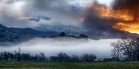 Fire and Ice, Mount Saint Helena photo