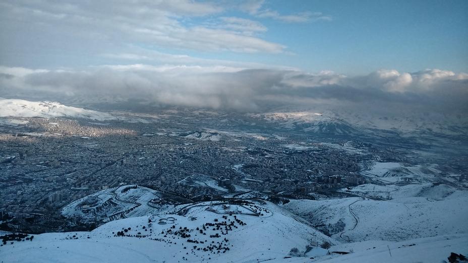 View of Sanandaj from Awiar