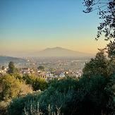 Vesuvio from Casertavecchia, Vesuvius
