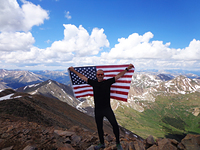 Mount Elbert Summit photo