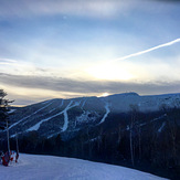 Sunset in January, Mount Mansfield