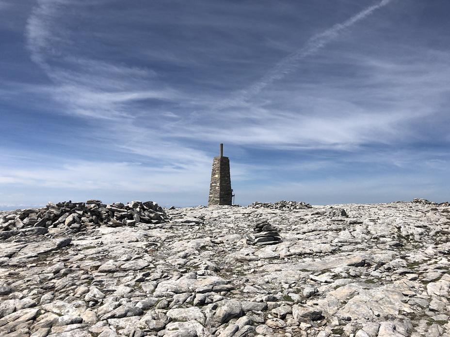 The top of Malaga, La Maroma