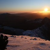 Stunning sunrise over Snowdon