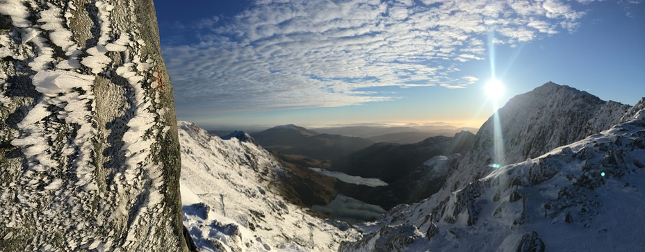 Rime Ice on Snowdon