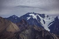 Nevado Juncal seen from Cerro Hornitos photo