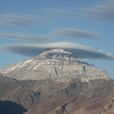 Monte Aconcagua seen from Chile