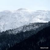 Babia Góra w bieli