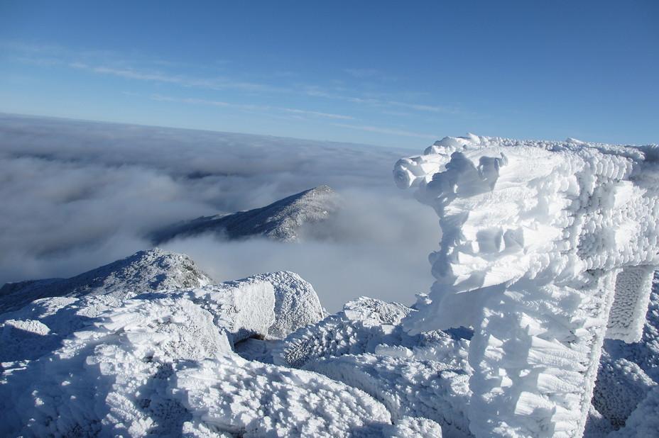 Atop Adams, Mount Adams