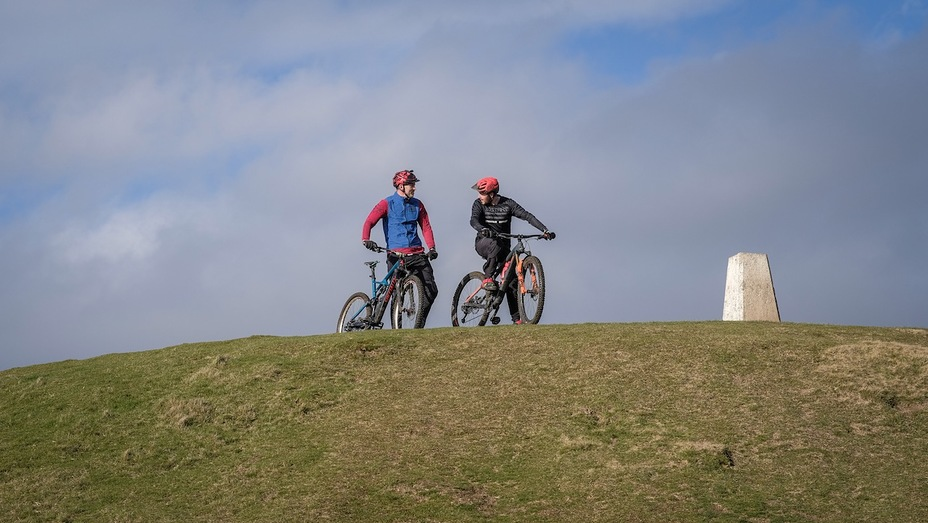 Cardiff Mountain Biking, Garth Mountain, Mynydd y Garth