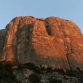 West side of Roques de Benet