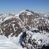 Toubkal from Ras N'Ouanoukrim