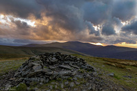 Summit Cairn, Bowscale Fell photo