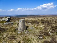Trig Point, Sighty Crag photo