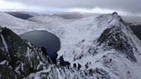 Helvellyn and Striding Edge photo