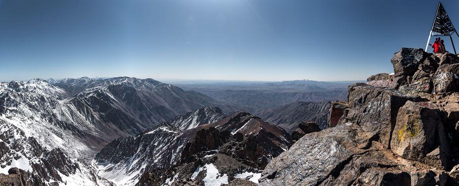 Toubkal panorama