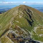 Volovec from Ostrý Roháč, Volovec (Tatra)
