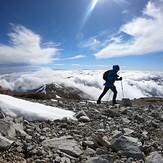 Backbone March 2020, Mount Baldy (San Gabriel Range)
