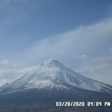 cloud and snow on Ararat, Mount Ararat or Agri