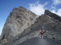 Main peak, Mount Meru photo