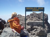 Summit, Mount Meru photo