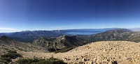 View from Freel Peak of Lake Tahoe photo
