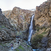 Darabad Waterfall, Tochal