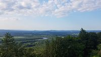 View from the summit house, Mount Holyoke photo