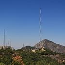 "Mt. Markham and San Gabriel Peak From 100"" Dome Catwalk, Mt. Wilson"