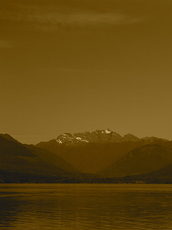 Mt. Constance, 7743 ft., from Seabeck, WA, Mount Constance photo